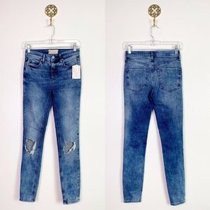 NWT Free People Distressed Jeans 26R